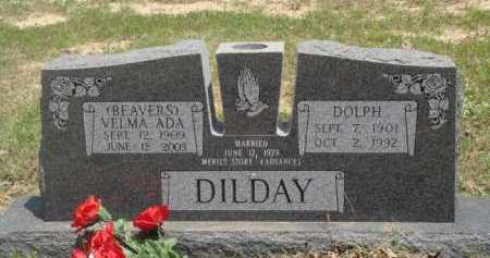DILDAY, DOLPH - Baxter County, Arkansas | DOLPH DILDAY - Arkansas Gravestone Photos