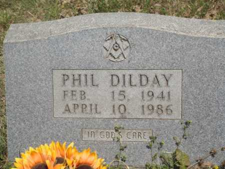 DILDAY, PHIL - Baxter County, Arkansas | PHIL DILDAY - Arkansas Gravestone Photos