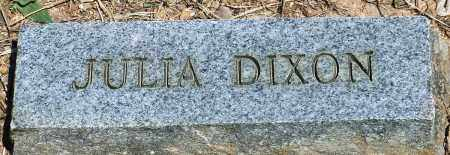 DIXON, JULIA - Baxter County, Arkansas | JULIA DIXON - Arkansas Gravestone Photos