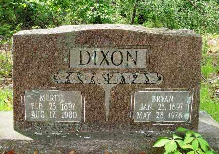 DIXON, MERTIE - Baxter County, Arkansas | MERTIE DIXON - Arkansas Gravestone Photos