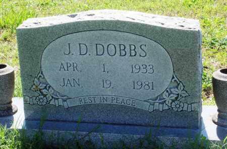 DOBBS, J D - Baxter County, Arkansas | J D DOBBS - Arkansas Gravestone Photos