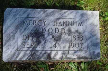 DODD, MERCY - Baxter County, Arkansas   MERCY DODD - Arkansas Gravestone Photos