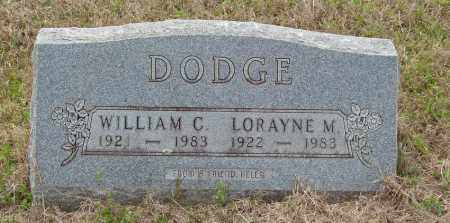 DODGE, WILLIAM C - Baxter County, Arkansas | WILLIAM C DODGE - Arkansas Gravestone Photos