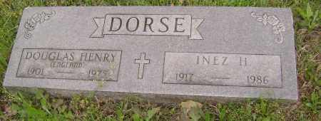 DORSE, DOUGLAS HENRY - Baxter County, Arkansas | DOUGLAS HENRY DORSE - Arkansas Gravestone Photos