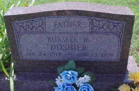 DOSHIER, RUSSELL R. - Baxter County, Arkansas | RUSSELL R. DOSHIER - Arkansas Gravestone Photos