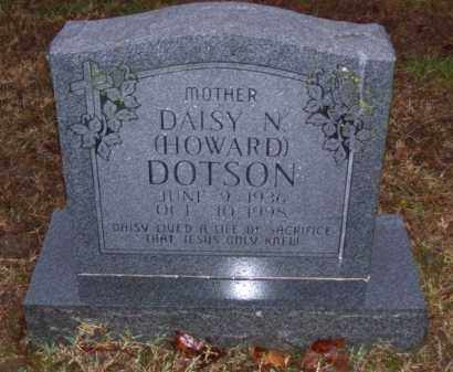 HOWARD DOTSON, DAISY N. - Baxter County, Arkansas | DAISY N. HOWARD DOTSON - Arkansas Gravestone Photos