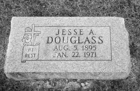 DOUGLAS, JESSE A. - Baxter County, Arkansas | JESSE A. DOUGLAS - Arkansas Gravestone Photos