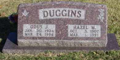 KNIGHT DUGGINS, HAZEL M. - Baxter County, Arkansas | HAZEL M. KNIGHT DUGGINS - Arkansas Gravestone Photos