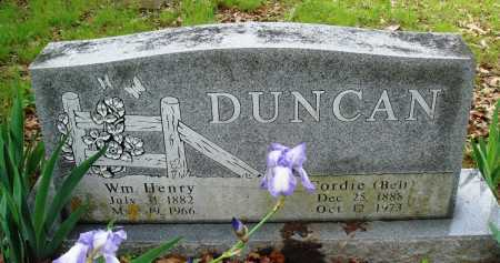 DUNCAN, WILLIAM HENRY - Baxter County, Arkansas | WILLIAM HENRY DUNCAN - Arkansas Gravestone Photos