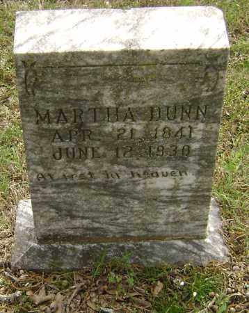 DUNN, MARTHA - Baxter County, Arkansas | MARTHA DUNN - Arkansas Gravestone Photos