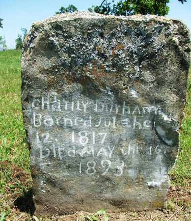 DURHAM, CHATILY - Baxter County, Arkansas | CHATILY DURHAM - Arkansas Gravestone Photos