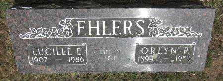 EHLERS, ORLYN P. - Baxter County, Arkansas | ORLYN P. EHLERS - Arkansas Gravestone Photos