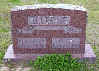 ELLEDGE, CLARENCE E. - Baxter County, Arkansas | CLARENCE E. ELLEDGE - Arkansas Gravestone Photos