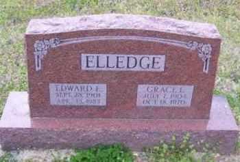 ELLEDGE, EDWARD EMMET - Baxter County, Arkansas | EDWARD EMMET ELLEDGE - Arkansas Gravestone Photos