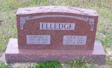 ELLEDGE, GRACE LENA - Baxter County, Arkansas | GRACE LENA ELLEDGE - Arkansas Gravestone Photos