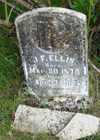 ELLIS, J F - Baxter County, Arkansas | J F ELLIS - Arkansas Gravestone Photos