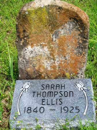 THOMPSON ELLIS, SARAH - Baxter County, Arkansas | SARAH THOMPSON ELLIS - Arkansas Gravestone Photos