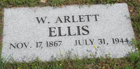 ELLIS, W ARLETT - Baxter County, Arkansas | W ARLETT ELLIS - Arkansas Gravestone Photos