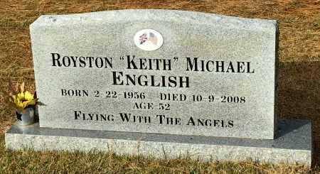 "ENGLISH, ROYSTON ""KEITH"" MICHAEL - Baxter County, Arkansas 