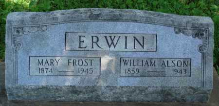 FROST ERWIN, MARY - Baxter County, Arkansas | MARY FROST ERWIN - Arkansas Gravestone Photos