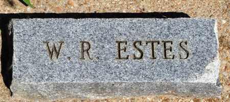 ESTES, W R - Baxter County, Arkansas | W R ESTES - Arkansas Gravestone Photos