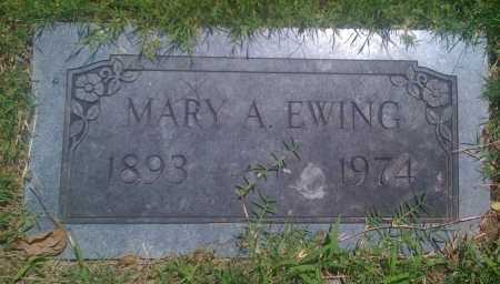 EWING, MARY A. - Baxter County, Arkansas | MARY A. EWING - Arkansas Gravestone Photos
