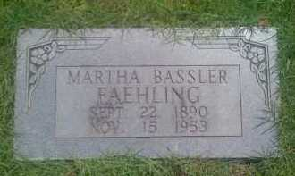 FAEHLING, MARTHA - Baxter County, Arkansas | MARTHA FAEHLING - Arkansas Gravestone Photos