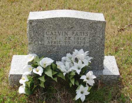 FARIS, CALVIN - Baxter County, Arkansas | CALVIN FARIS - Arkansas Gravestone Photos