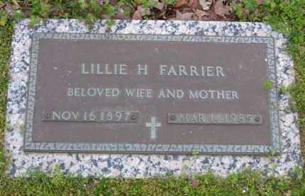 HOGAN FARRIER, LILLIE H. - Baxter County, Arkansas | LILLIE H. HOGAN FARRIER - Arkansas Gravestone Photos