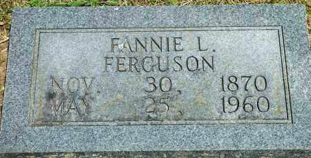 FERGUSON, FANNIE L - Baxter County, Arkansas | FANNIE L FERGUSON - Arkansas Gravestone Photos
