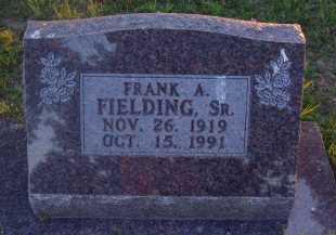 FIELDING, SR., FRANK - Baxter County, Arkansas | FRANK FIELDING, SR. - Arkansas Gravestone Photos