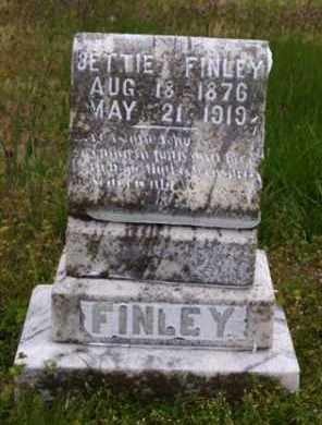 FINLEY, SARAH ELIZABETH 'BETTIE' - Baxter County, Arkansas | SARAH ELIZABETH 'BETTIE' FINLEY - Arkansas Gravestone Photos