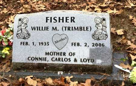 TRIMBLE FISHER, WILLIE M. - Baxter County, Arkansas | WILLIE M. TRIMBLE FISHER - Arkansas Gravestone Photos