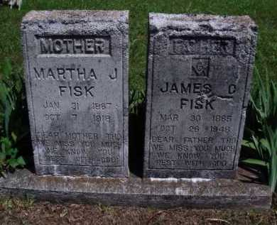 FISK, JAMES D. - Baxter County, Arkansas | JAMES D. FISK - Arkansas Gravestone Photos