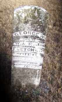FLETCHER, GEORGE W. - Baxter County, Arkansas | GEORGE W. FLETCHER - Arkansas Gravestone Photos