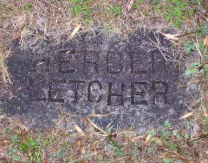 FLETCHER, HERBERT - Baxter County, Arkansas | HERBERT FLETCHER - Arkansas Gravestone Photos