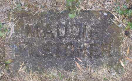 FLETCHER, MAUDIE - Baxter County, Arkansas | MAUDIE FLETCHER - Arkansas Gravestone Photos