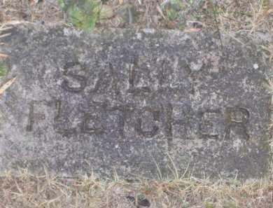 FLETCHER, SALLY - Baxter County, Arkansas | SALLY FLETCHER - Arkansas Gravestone Photos