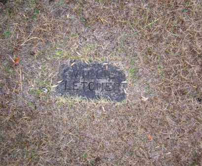 FLETCHER, WILLIE - Baxter County, Arkansas | WILLIE FLETCHER - Arkansas Gravestone Photos