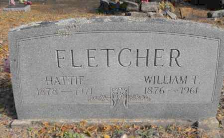FLETCHER, WILLIAM T. - Baxter County, Arkansas | WILLIAM T. FLETCHER - Arkansas Gravestone Photos