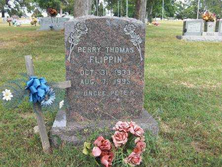 FLIPPIN, PERRY THOMAS - Baxter County, Arkansas | PERRY THOMAS FLIPPIN - Arkansas Gravestone Photos