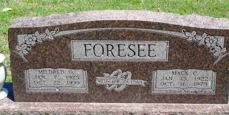 FORESEE, MILDRED O - Baxter County, Arkansas | MILDRED O FORESEE - Arkansas Gravestone Photos