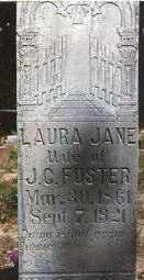"FOSTER, LAURA JANE ""JANIE"" - Baxter County, Arkansas | LAURA JANE ""JANIE"" FOSTER - Arkansas Gravestone Photos"