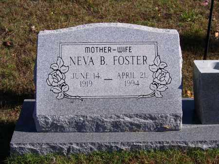 HARDESTY FOSTER, NEVA B. - Baxter County, Arkansas | NEVA B. HARDESTY FOSTER - Arkansas Gravestone Photos