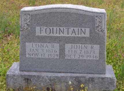 WATSON FOUNTAIN, LONA B. - Baxter County, Arkansas | LONA B. WATSON FOUNTAIN - Arkansas Gravestone Photos