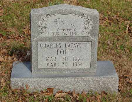 FOUT, CHARLES LAFAYETTE - Baxter County, Arkansas | CHARLES LAFAYETTE FOUT - Arkansas Gravestone Photos