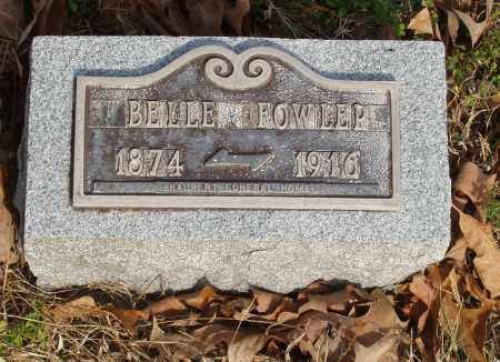 FOWLER, BELLE - Baxter County, Arkansas | BELLE FOWLER - Arkansas Gravestone Photos