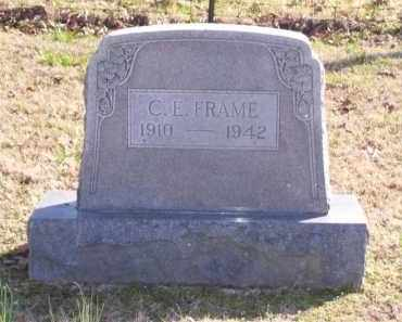 FRAME, CHARLES ESTALEE - Baxter County, Arkansas | CHARLES ESTALEE FRAME - Arkansas Gravestone Photos
