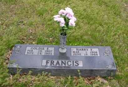 FRANCIS, HARRY F. - Baxter County, Arkansas | HARRY F. FRANCIS - Arkansas Gravestone Photos