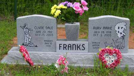 FRANKS, CLYDE DALE - Baxter County, Arkansas | CLYDE DALE FRANKS - Arkansas Gravestone Photos